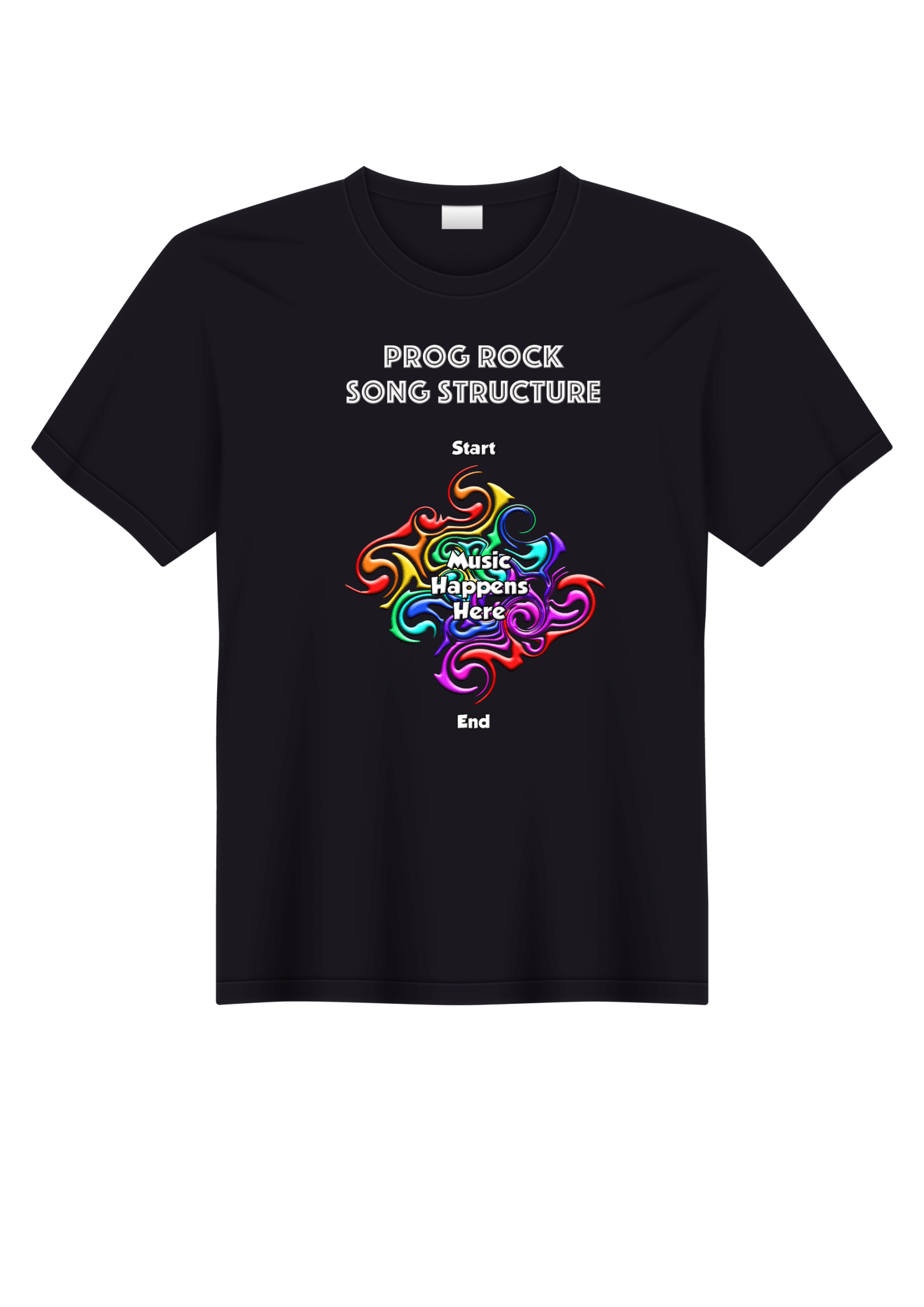 Music Happens Here T shirt
